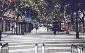 calle en pandemia