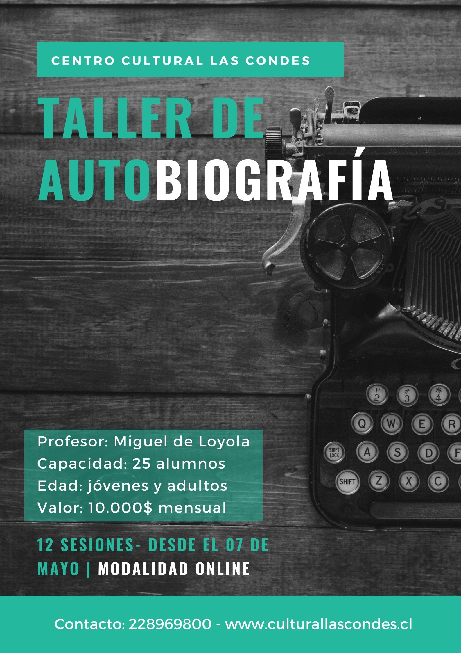 Taller de autobiografía - Miguel de Loyola